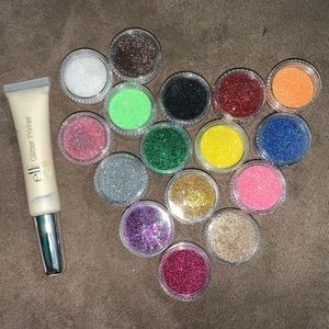 16 loose eyeshadow singles with primer